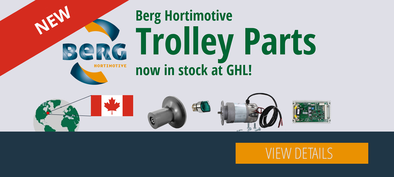 We now keep Berg Hortimotive parts in stock!